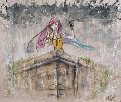 Raining Again by AdamScythe
