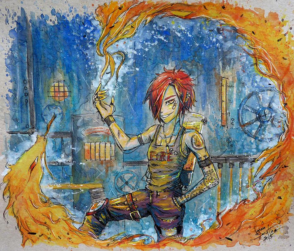 Flameholder by AdamScythe