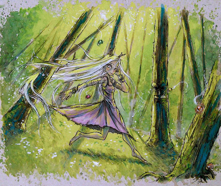 Y'sis - The Forbidden Land of Andara by AdamScythe