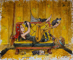 Helga Hufflepuff - Hogwarts Founders - Part I. by AdamScythe