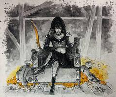 Queen of Thieves by AdamScythe