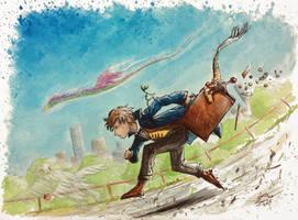 Newt Scamander - Fantastic Beasts by AdamScythe