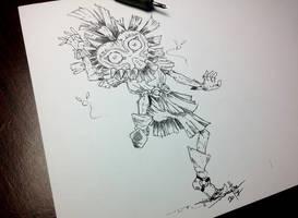 Inktober Day 31 - Mask by AdamScythe