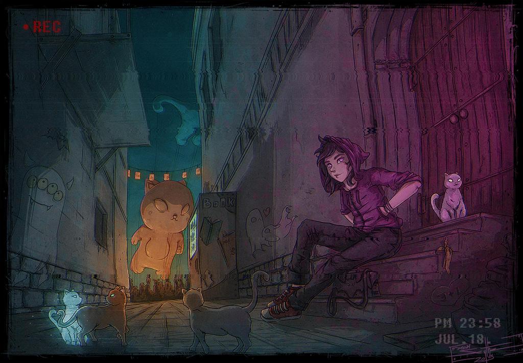 Cat Festival by AdamScythe