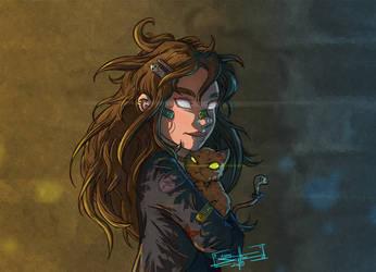 Miss Granger by AdamScythe