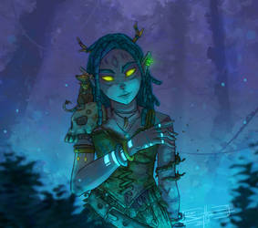 Forest Witch by AdamScythe