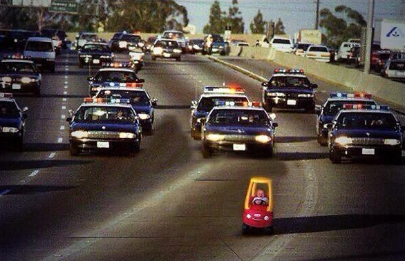 Baby police chase by thejakerose123 on deviantart for Chaise auto