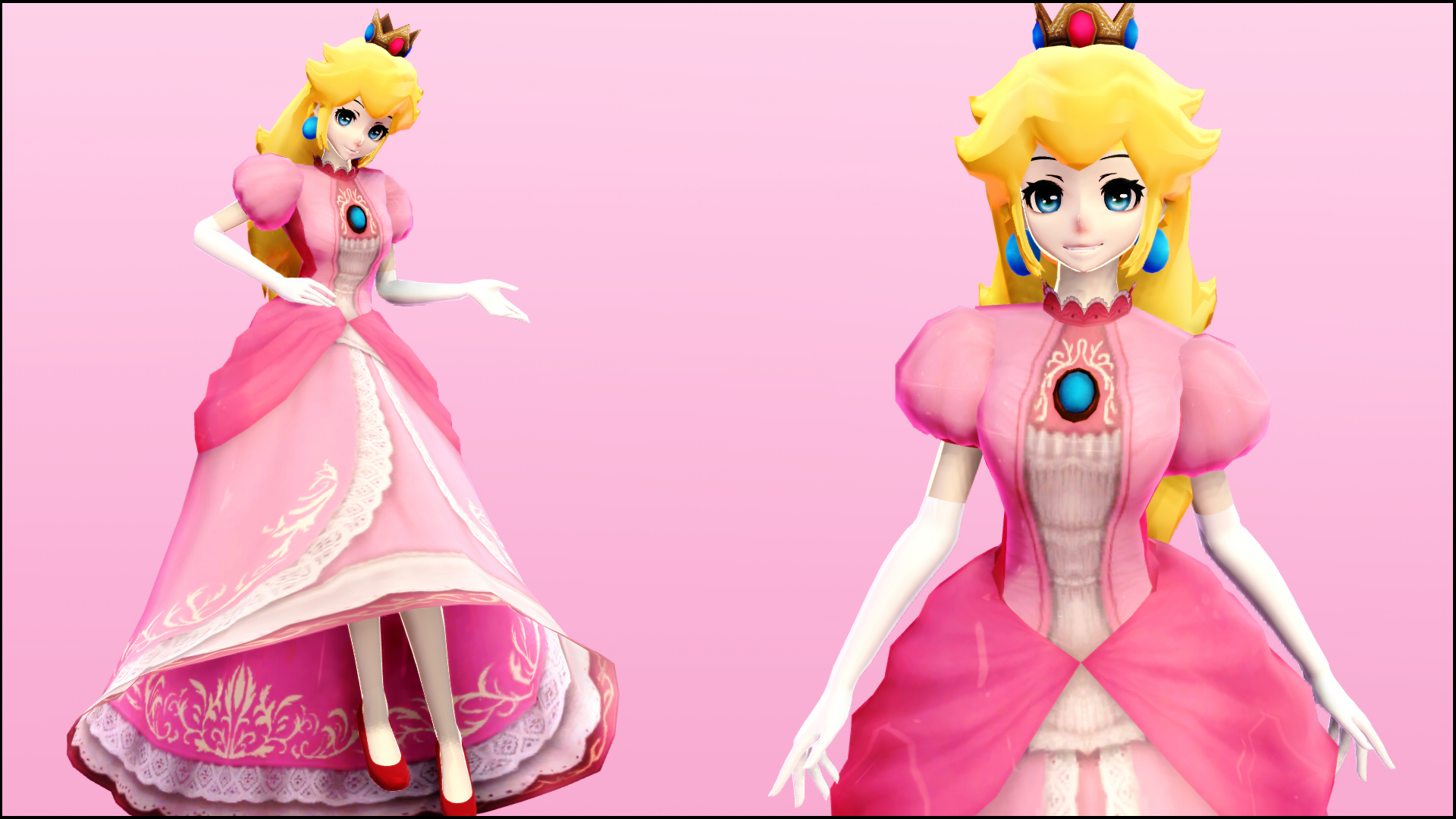 Mmd peach model download
