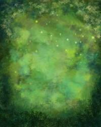 Foliage Painted Background