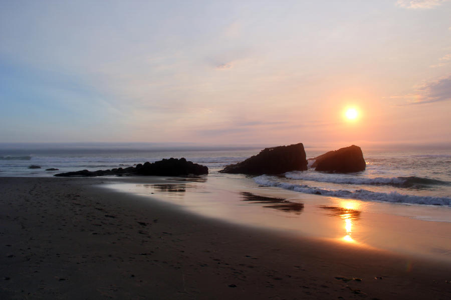 Lincoln City Sunset 1