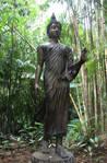 Statue in Jungle