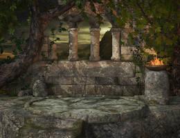 Sky Temple by Cynnalia-Stock