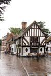 English Village Street by Cynnalia-Stock
