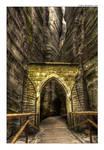 Adrspach: rocky gate