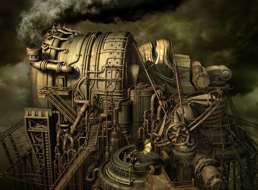 Requiem for Industry by Almacan