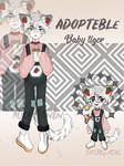 ADOPT CHARACTER - baby tiger ( close) by CagliostroSith