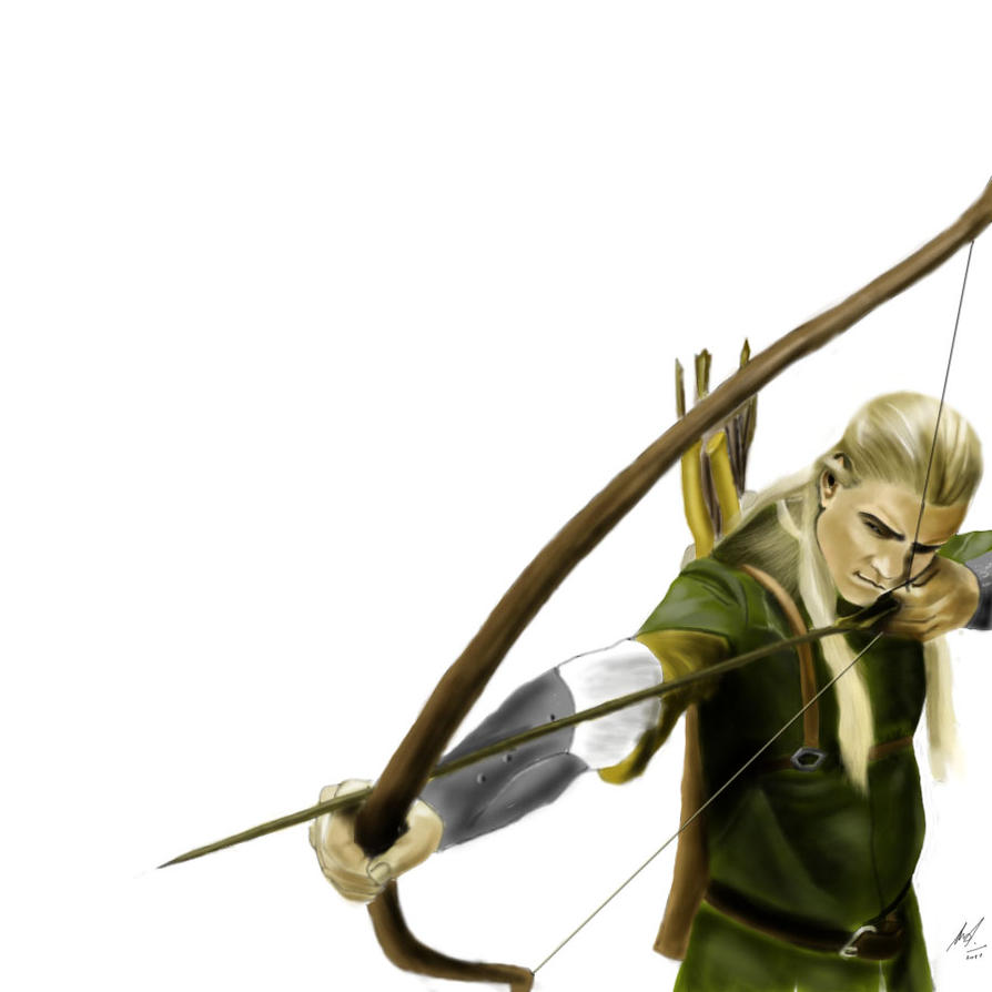 Legolas Wallpaper: Legolas By Domalyus On DeviantArt