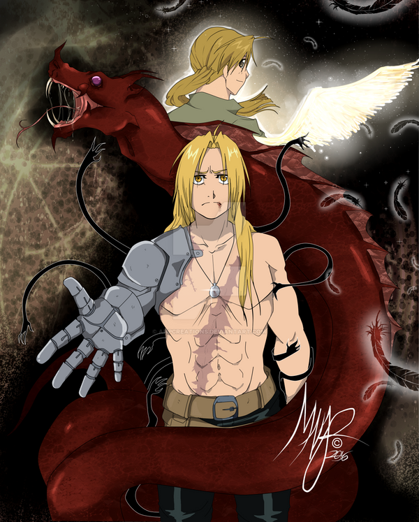 FULLMETAL ALCHEMIST: Sinful Corruptions By ANPCreations On