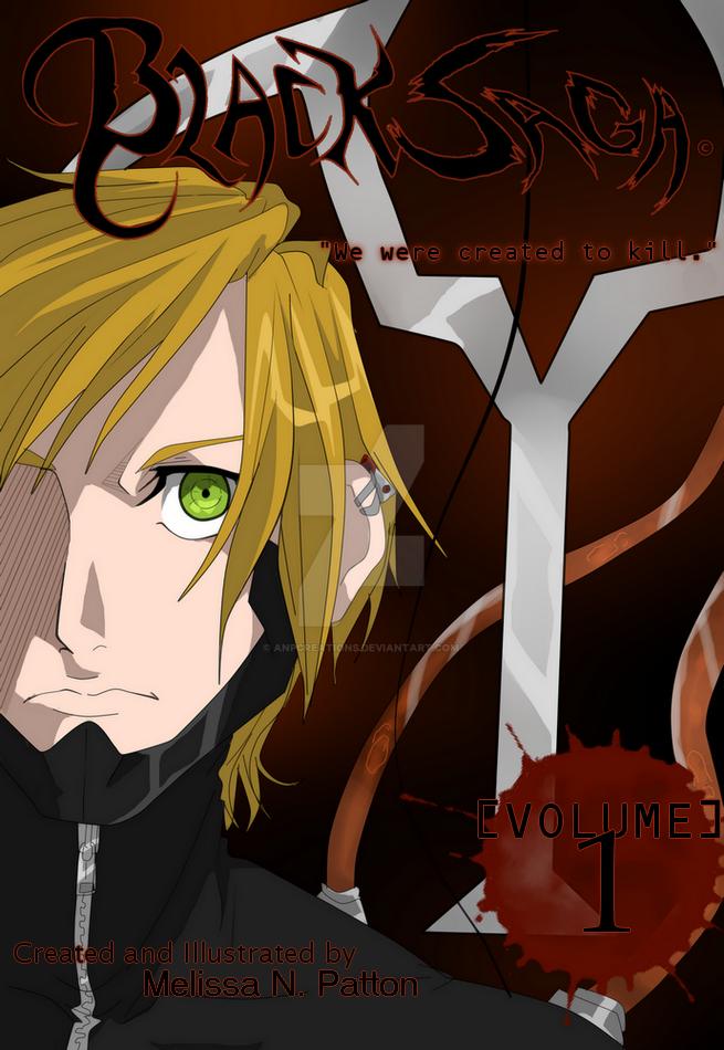 BLACK SAGA Volume 1 Cover by SweetheartedSadist
