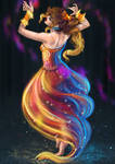 Flame Dance by Tschandria