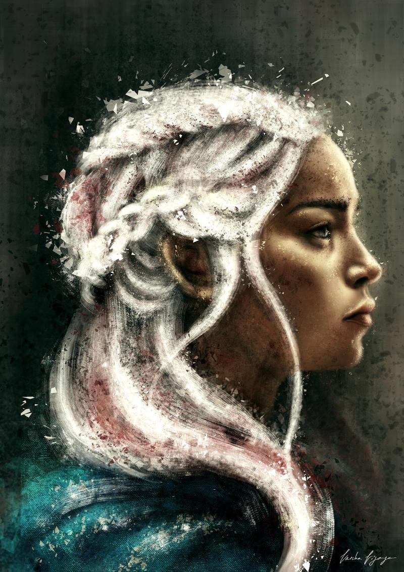 Daenerys Stormborn. by VarshaVijayan