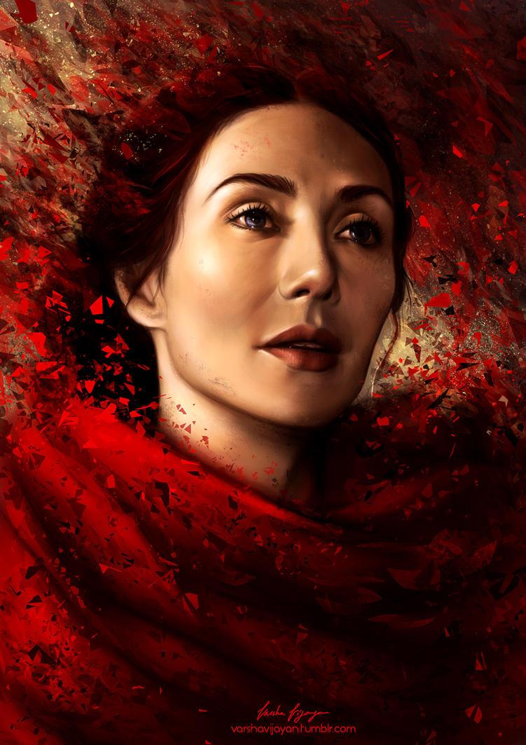 The Red Priestess by VarshaVijayan
