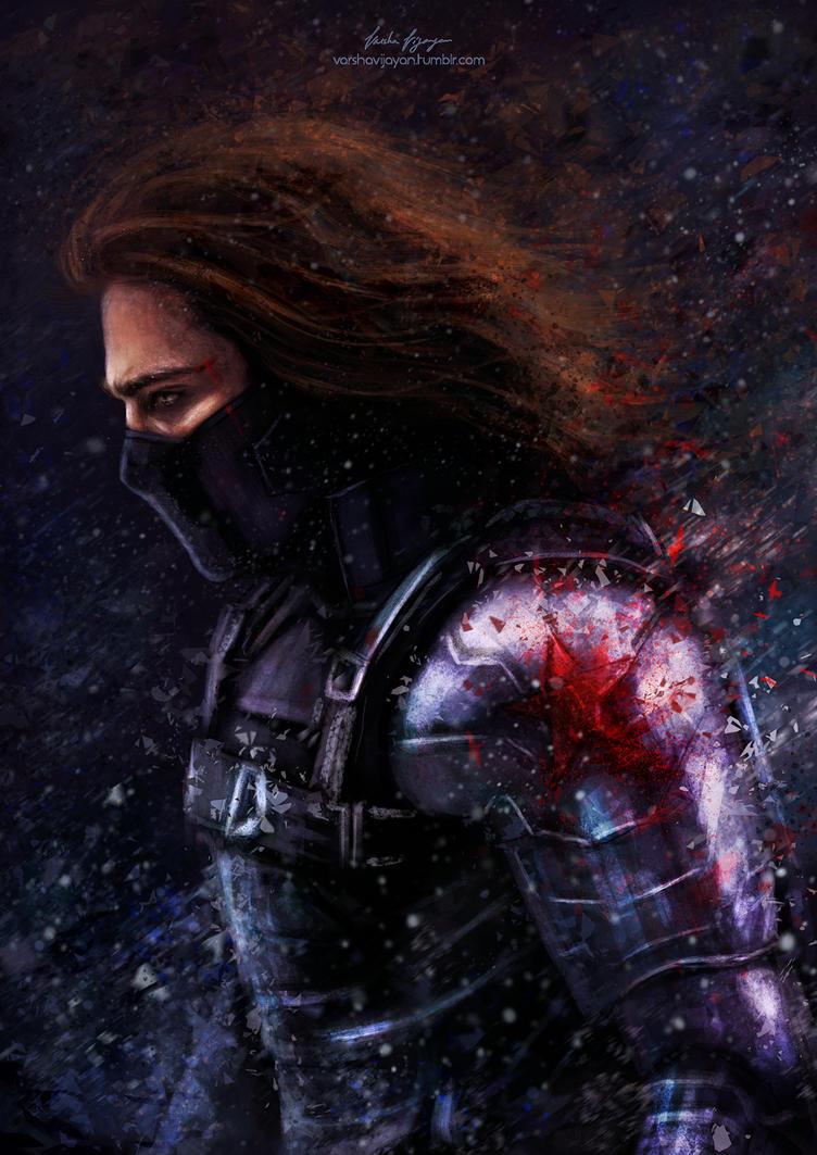 The Winter Soldier. by VarshaVijayan