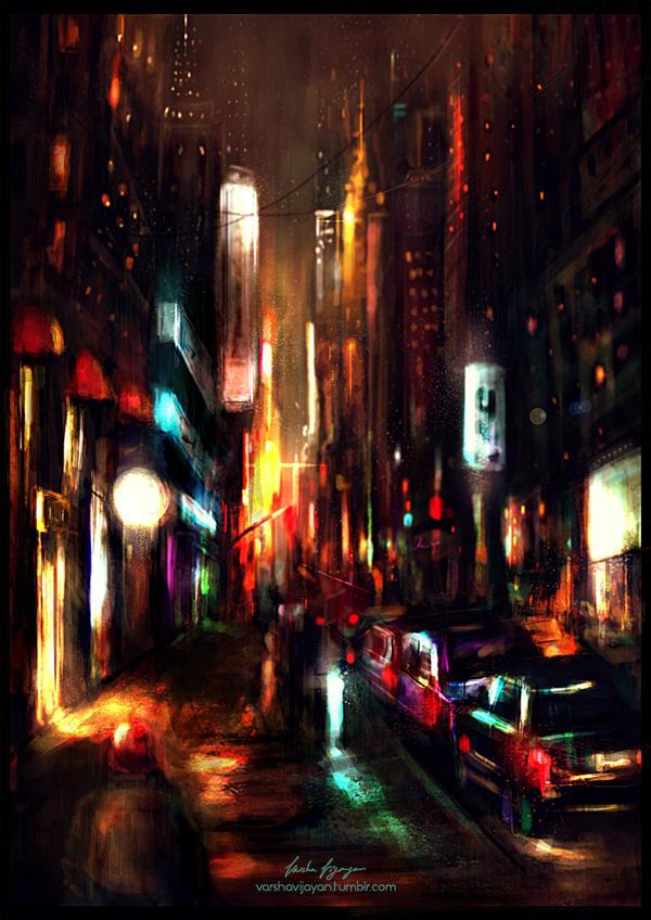 Street (Warmup) by VarshaVijayan
