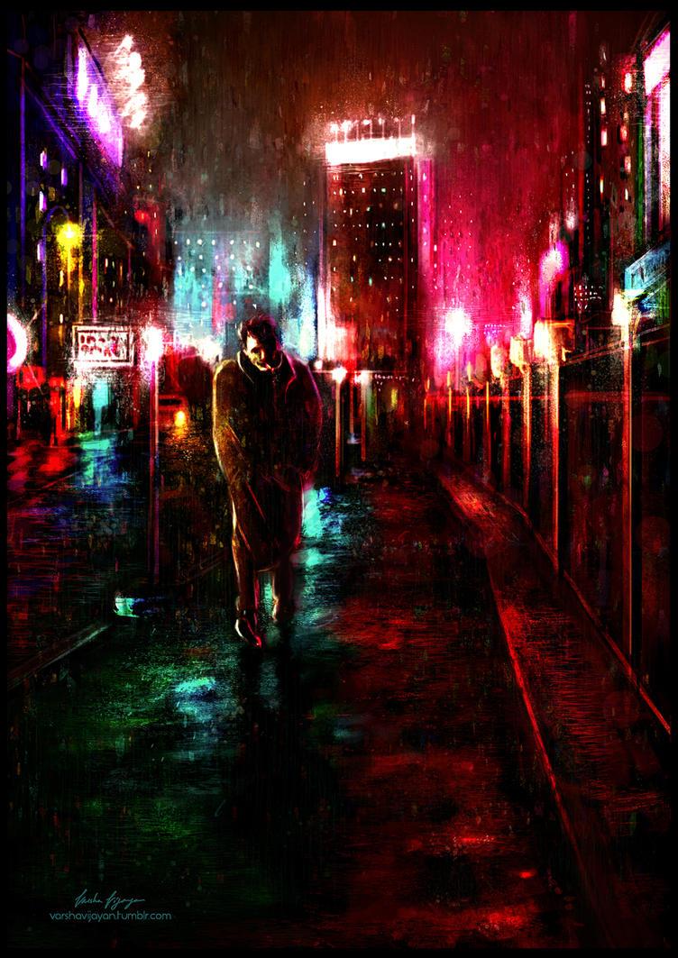 Cold nights. by VarshaVijayan