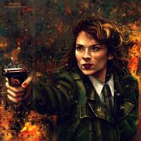 Agent Carter. by VarshaVijayan