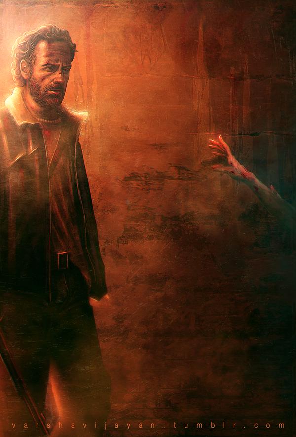 Walking Dead by VarshaVijayan