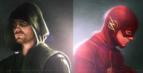 Arrow and The Flash