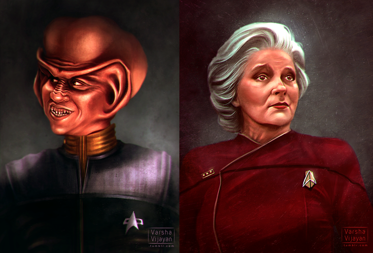 Star Trek Commissions by VarshaVijayan