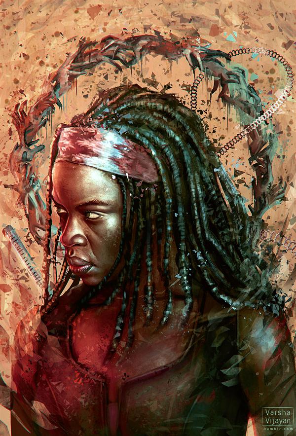 The Samurai by VarshaVijayan
