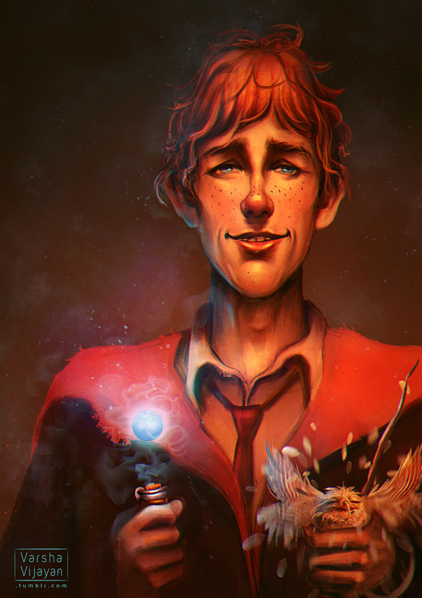 Ronald Weasley by VarshaVijayan on DeviantArt