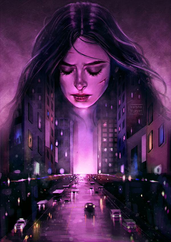 Jessica Jones by VarshaVijayan