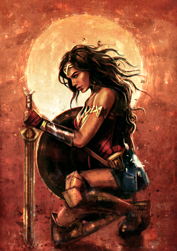 Wonder Woman by VarshaVijayan on DeviantArt