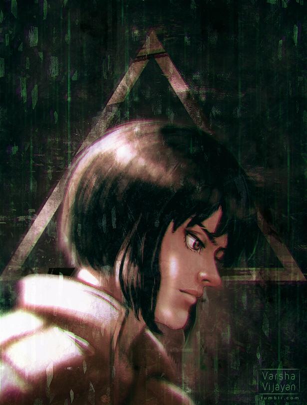 Ghost in the shell by VarshaVijayan