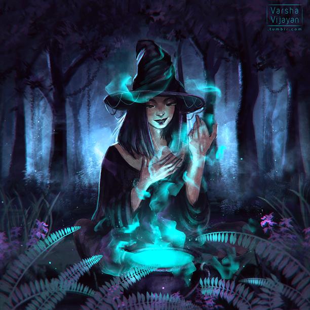 Witching Hour by VarshaVijayan
