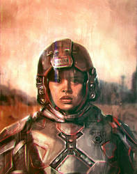 The Soldier by VarshaVijayan