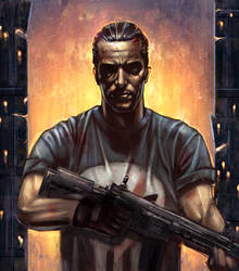 The Punisher by VarshaVijayan