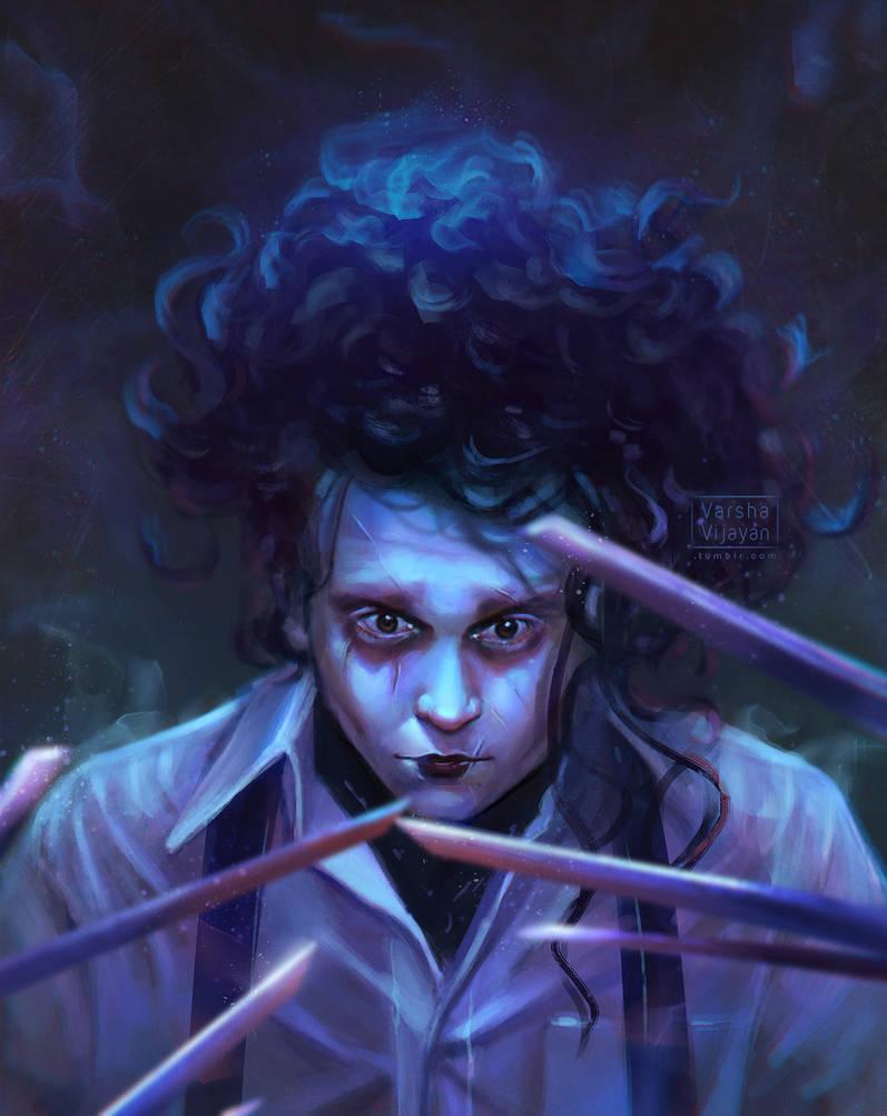 Scissorhands by VarshaVijayan