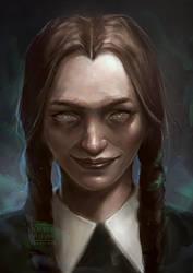 Wednesday Addams by VarshaVijayan