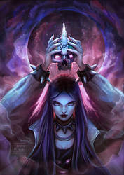 Angry_Intense_Unicorn_Skull_Owning_Punk_Goddess? by VarshaVijayan