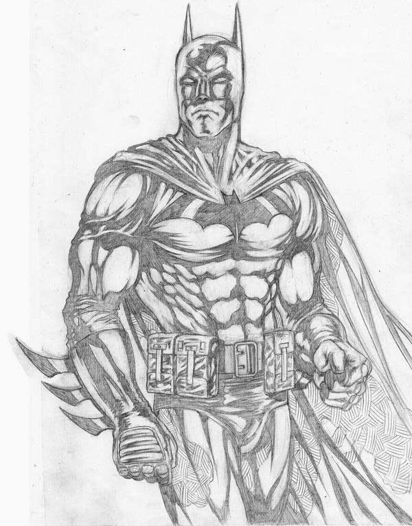 Batman Study Pencils by bonesdeviant on DeviantArt