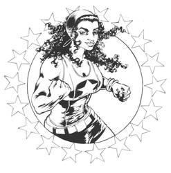 America Chavez Sketch