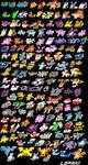 Minimalistic Pokemon Pixel Art