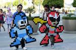 Mega Man Cosplay at Anime-Expo 2011