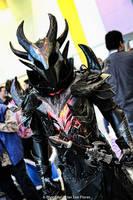Skyrim - Daedric Armor (WonderCon 2012) by BrianFloresPhoto