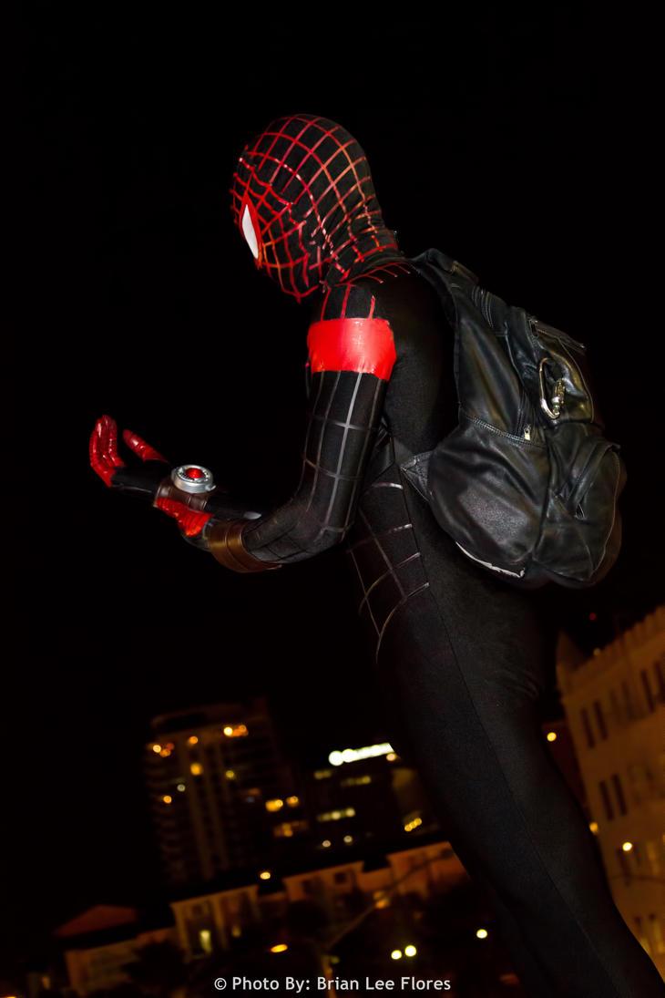Spider-Man - Miles Morales (LBCC 2012) by BrianFloresPhoto ...